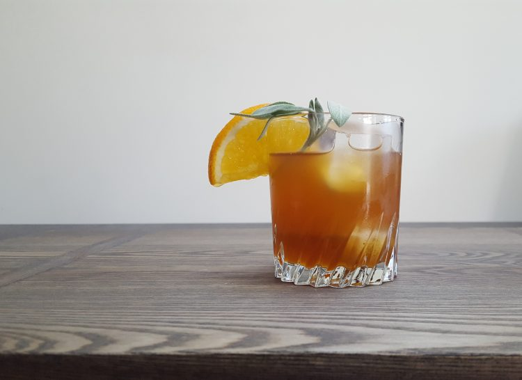 Honey Bear Bourbon Cocktail | Feast In Thyme