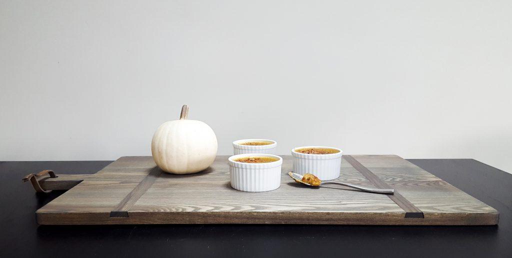 Maple-Bourbon Pumpkin Creme Brulee   Feast In Thyme
