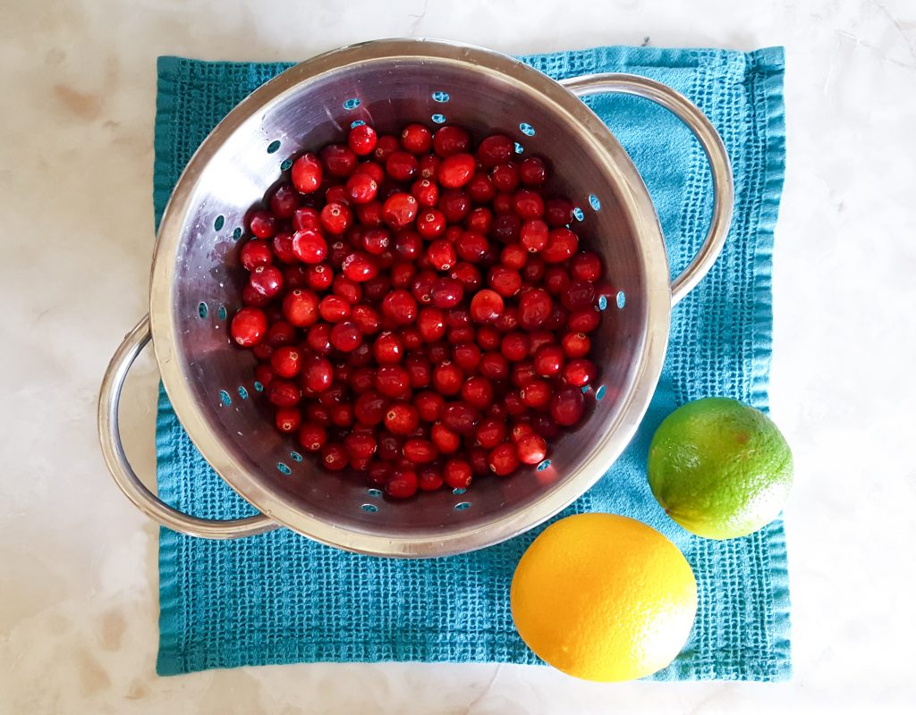 Cranberry Orange Pie with Gingersnap Crust | Feast In Thyme