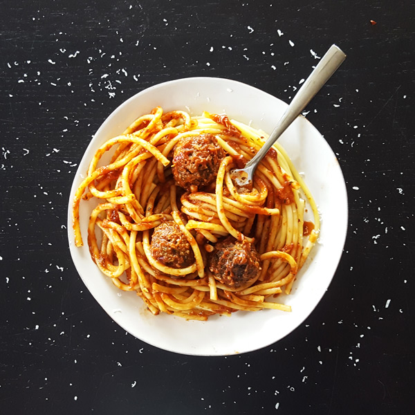 Thymeline 03 - Spaghetti & Meatballs | Feast In Thyme