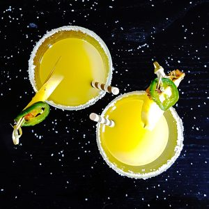 Spicy Jalapeno-Pineapple Margarita | Feast In Thyme