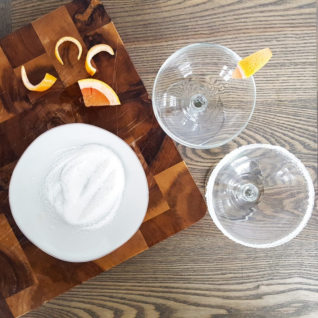 Elderflower & Citrus Paloma with Homemade Lime Syrup | Feast In Thyme