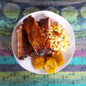Oven Baked Ribs in Sweet Rum Molasses Glaze | Caribbean Fete | Feast In Thyme