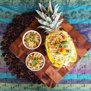 Coconut & Pineapple Fried Rice   Caribbean Fete   Feast In Thyme