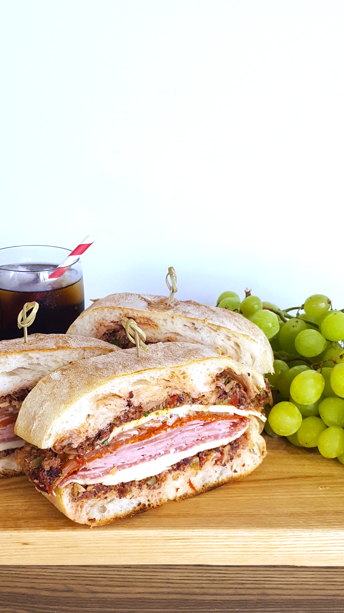 Pressed Muffuletta Sandwich for a Crowd & Tips for a Brilliant Beach Picnic   Feast In Thyme